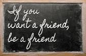 L'amitié sincère et fidèle