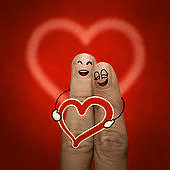 Les poèmes de déclaration d'amour