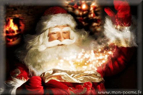 Papa Noël en poésie
