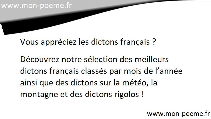 Dictons Janvier Les Dictons Du Mois De Janvier