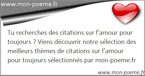 Lamour Pour Toujours Citations