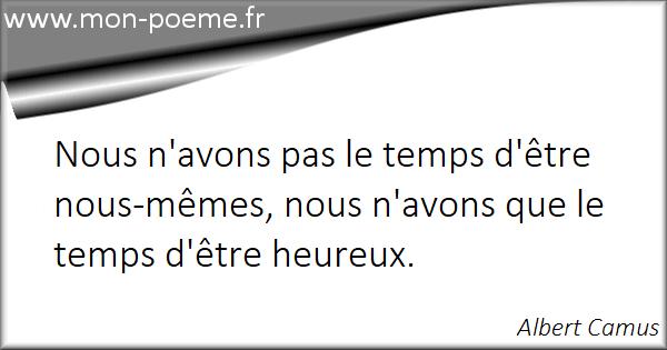 Les Citations Célèbres De Albert Camus