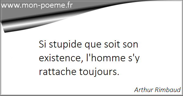 Citations Arthur Rimbaud Ses 42 Citations