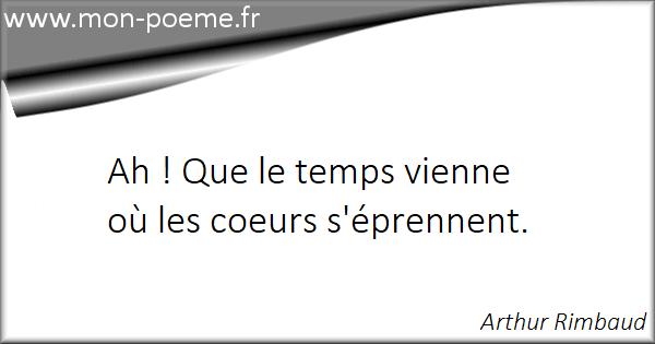 Les Citations Célèbres De Arthur Rimbaud