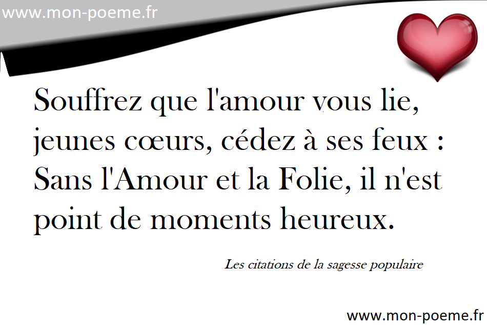 Connu La sagesse populaire - Les 118 citations de la sagesse populaire LB89