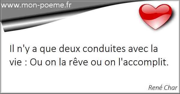 Citations René Char Ses 47 Citations