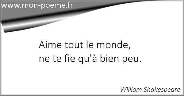 Les Citations Célèbres De William Shakespeare