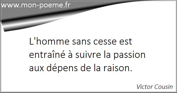 Passion Raison 18 Citations Sur La Passion Et La Raison