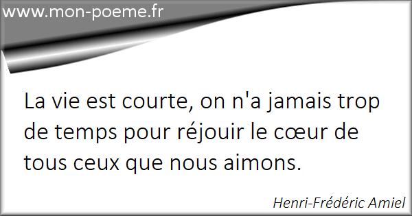 La Vie Est Courte 66 Citations Sur La Vie Est Courte