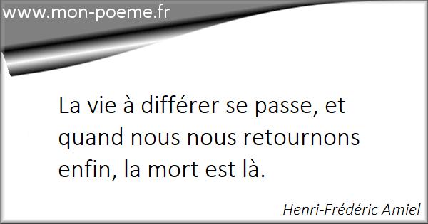 Gut bekannt La vie / La mort - 55 citations sur la vie et la mort OW21
