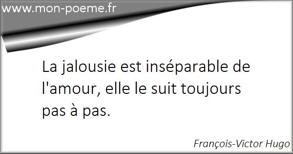 Citation Jalousie Couple