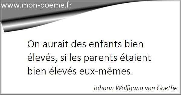 Les Citations Sur Les Parents Et Les Enfants