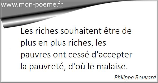 Les Citations Sur Les Riches Et Les Pauvres