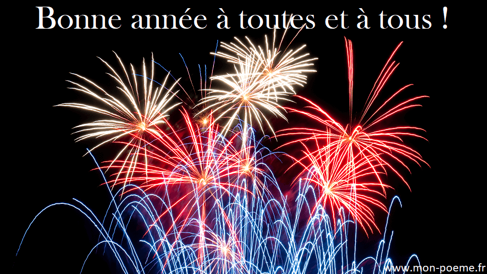 Poèmes Du Nouvel An Poésie Bonne Année 2019