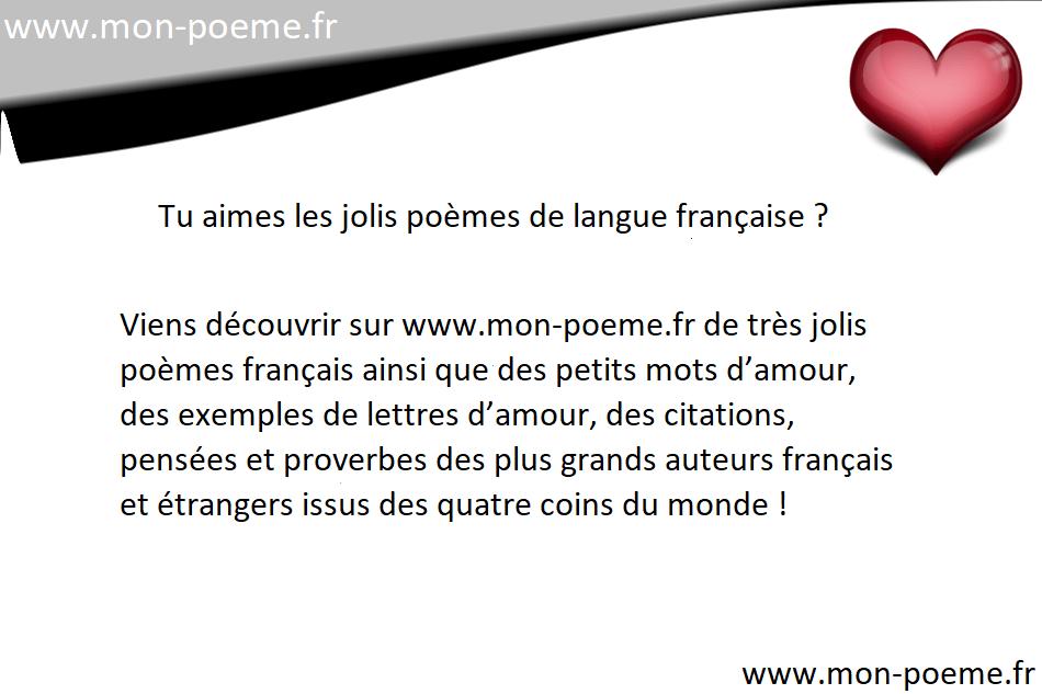 Po sie d 39 amour la po sie sur l 39 amour for Auteur romantique