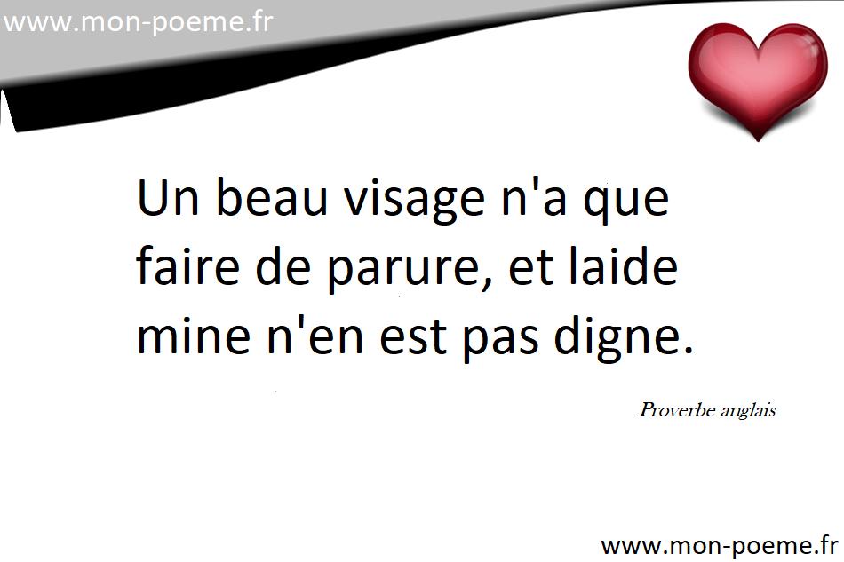 Proverbes Anglais Traduits En Français