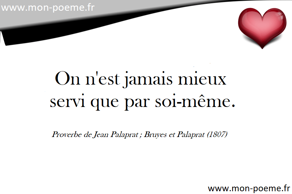 Les Proverbes Français Célèbres