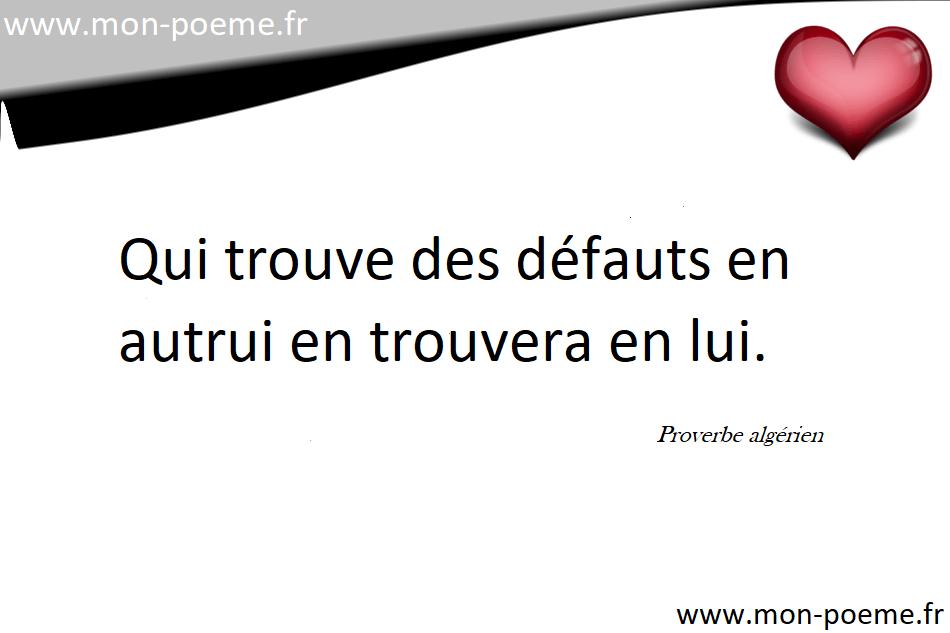 Proverbes Algériens 41 Proverbes De Lalgérie