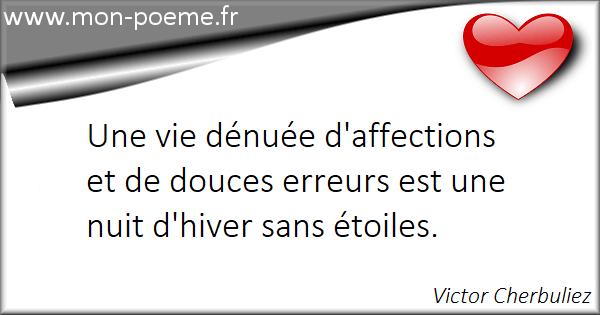 Citations affection : 103 citations sur affection