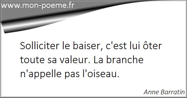 Favori Citations baiser : 98 citations sur baiser NU69