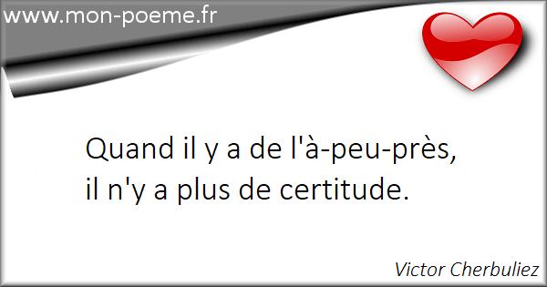 Citations Certitude 40 Citations Sur Certitude