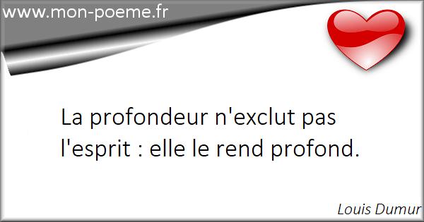 Les Citations De Célébrités Sur Profondeur